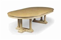extending dining table (in 3 parts) by david linley