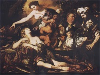 the sacrifice of iphigenia by pietro paolo raggi