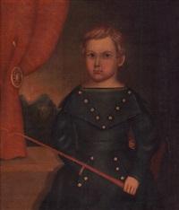 a portrait of stephen edgell, age 2 by horace bundy