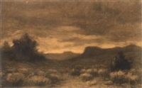 landscape by joseph henry sharp