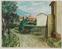 paesaggio ligure by emanuele rambaldi
