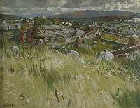 landscape roundstone by maurice macgonigal