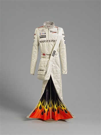 formula 1 dress by sylvie fleury