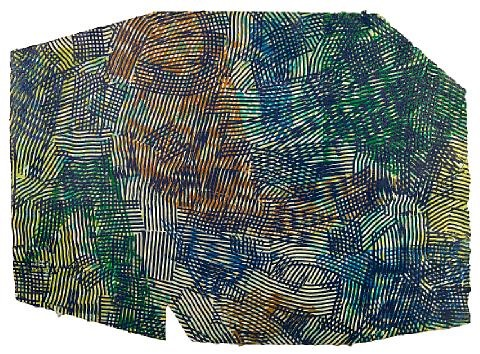lattice iii by sam gilliam