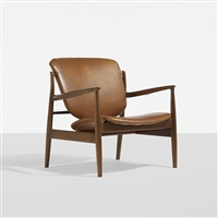 lounge chair by finn juhl
