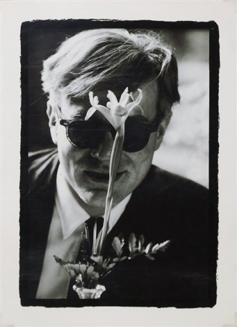 6f05a53be5e Andy Warhol with Flower