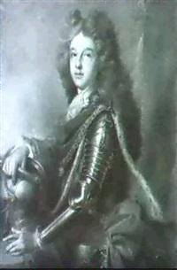 portrait de philippe v, duc d'anjou et roi d'espagne by joseph vivien