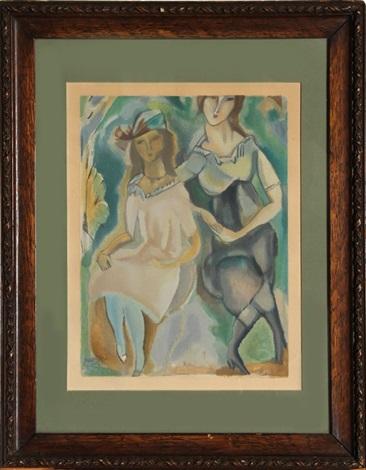 deux femme by jules pascin