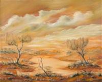 desert landscape by jack absalom