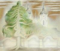 želiv monastery by jindrich hegr