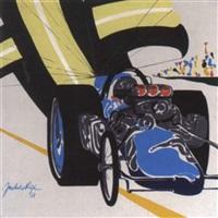 dragster race by jack de rijk