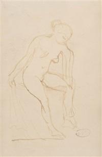 étude de nu féminin by aristide maillol