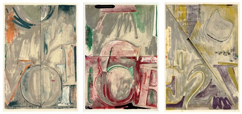 voice 2 album of 3 works by jasper johns