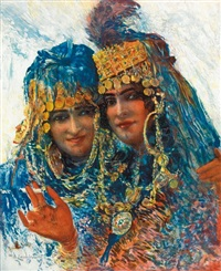 deux jeunes ouled-naïl by william lambrecht