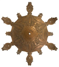 ceiling medallion from the guaranty building by louis henri sullivan