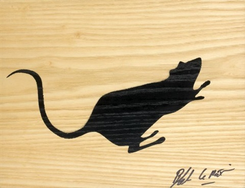 rat by blek le rat