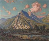 vallée de l'isère, les rochers de l'église, les falaises de rocheplaine by andre albertin