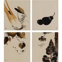 untitled (14 works in 7 frames) by taishin ikeda