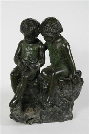 two children by auguste louis mathurin moreau
