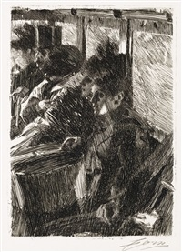 the omnibus by anders zorn