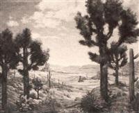 desert scene by wallace weir fahnestock
