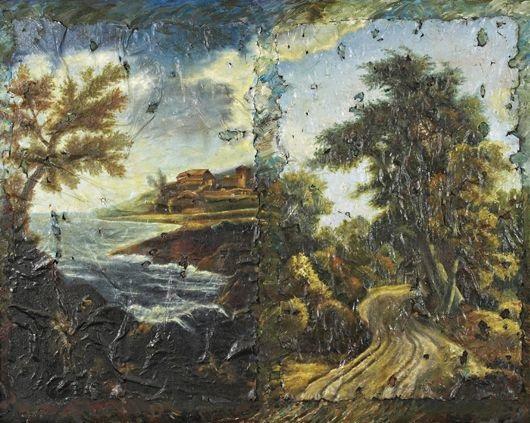 restored painting by igor kopystiansky