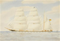 barque gladys by harold percival