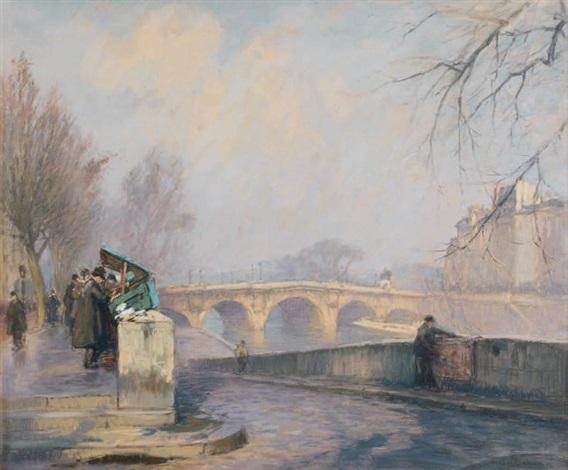 le pont neuf by henri alphonse barnoin