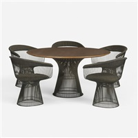 dining set (set of 6) by warren platner