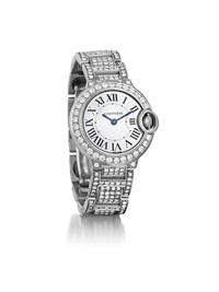 ballon bleu lady's wristwatch by cartier