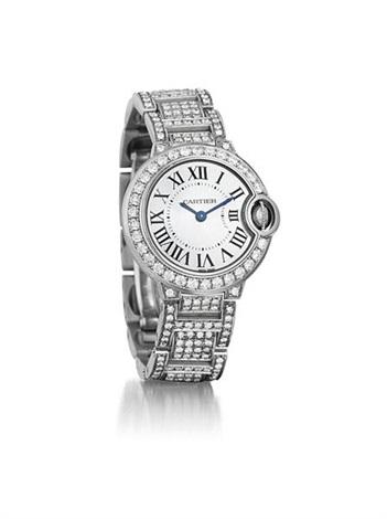 ballon bleu ladys wristwatch by cartier
