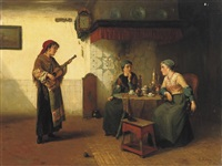 the gipsy musician by sipke (cornelis) kool