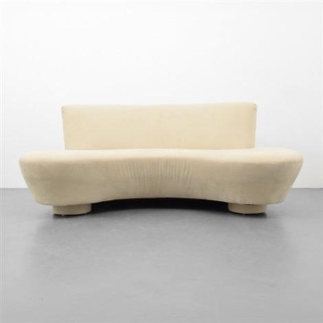 Beau Sofa Attributed To Vladimir Kagan By Vladimir Kagan