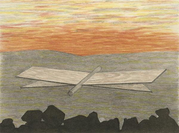 der zypressenschwärmer pl 2 from parapapillonneries by meret oppenheim