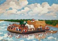 átkelés a folyón by béla apáti-abkarovics