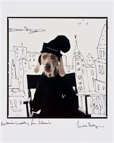 crooky by william wegman