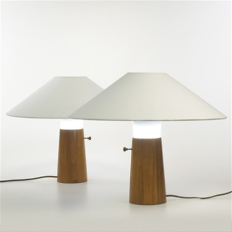 Table Lamps (pair) By George Nelson