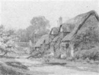 the village lane by arthur e. ward