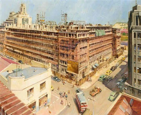 eight storey office building for the public works dept johannesburg by terence cuneo