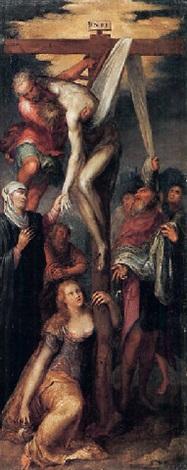 cristo deposto dalla croce by giuseppe salviati porta