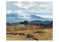 after the rain in the autumn evening by hitoshi yamaba