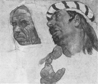 two arabs by erich wolfsfeld