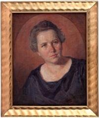 damenportrait by august frech