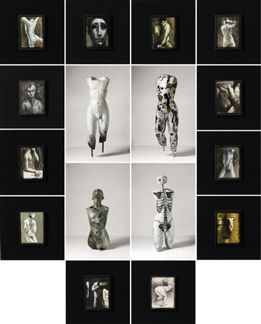 human series installation in 16 parts by ronald ventura
