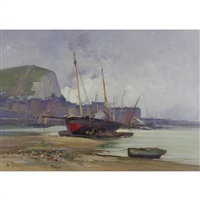 le port de dieppe by mathilde lenoir
