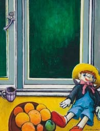 doll in the window by shona mcfarlane