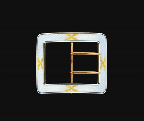 belt buckle by cartier