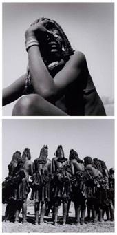 himba, namibie (2 works) by sergio caminata