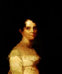 portrait of lucy myricks rust by samuel lovett waldo