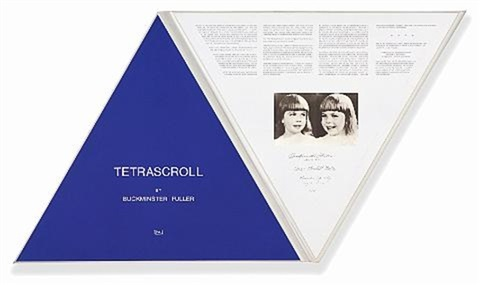 tetrascroll portfolio of 21 by buckminster fuller